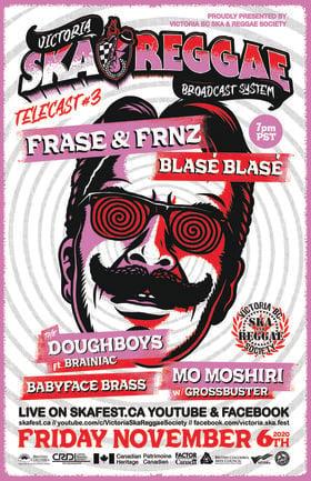 Telecast #3: FRASE, Blase Blase, The Doughboys ft. BRAINiac, Babyface Brass, Mo Moshiri, Grossbuster @ Hidden Gem Studios Nov 6 2020 - Sep 26th @ Hidden Gem Studios