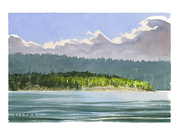 SE Wallace Island by  Victor J. Crapnell