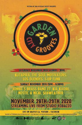 Garden City Grooves VII -Day 2: Jonnie 5 Brass Band, Kia Kadiri, Nostic & Nicki, Sexweather @ Studio Robazzo Nov 29 2020 - Sep 26th @ Studio Robazzo