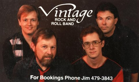 Vintage Rock & Roll Band