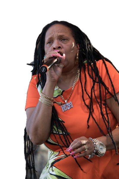 SISTER NANCY Sister Nancy, aka Muma Nancy, real name Ophlin Russell-Myers, (born Ophlin Russell, 2 January 1962, Kingston, Jamaica) is a dancehall DJ and singer. She is known to the world as the first female dancehall DJ and was described as being a