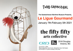 The Saskatchewan Maritime Museum Presents, La Ligue Gourmand: Todd Gronsdahl - Sep 25th @ the fifty fifty arts collective