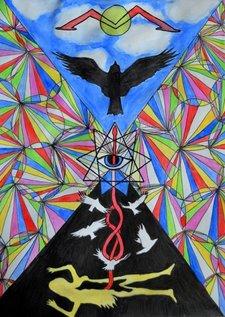 Profile Image: Poster/album cover design