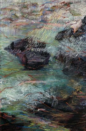 Two Paintings: Trish Shwart - Oct 26th @ Ministry of Casual Living Window Gallery