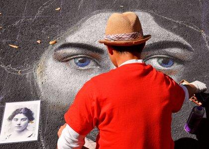 Photo -   Victoria International Chalk Art Festival