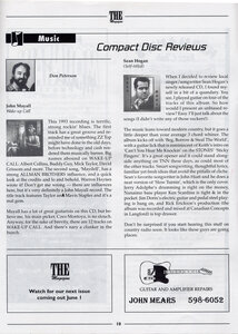 Photo- The Magazine Don Peterson CD Review May 1996  -   Don Peterson