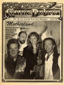 Photo- Cosmic Debris Magazine August 1998 Edition  -   Don Peterson