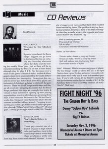 Photo- The Magazine Don Peterson CD Review October 1996  -   Don Peterson