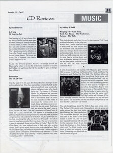 Photo- The Magazine Don Peterson CD Review December 1995  -   Don Peterson