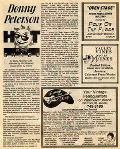 Photo- Cosmic Debris Magazine January February 1997 Edition Hot In The Shade Article  -   Don Peterson