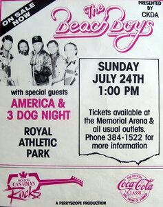 Photo- Beach Boys RAP  -   Royal Athletic Park