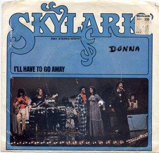 Photo- Skylark 45rpm I\'II Have To Go Away  -   Skylark