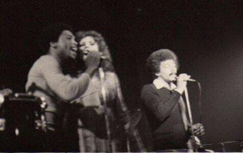 Photo- Skylark at the Troubadour April 1967 with Carl Graves BJ Cook and Donny Gerrard  -   Skylark