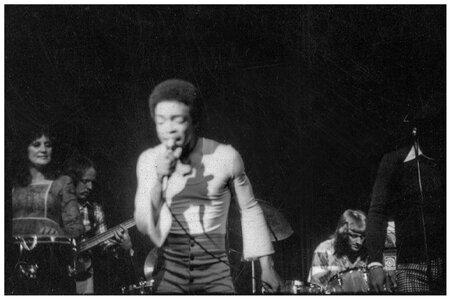 Photo- Skylark at the Troubadour April 1973 with Carl Graves singing  -   Skylark  - Photo Credit:  BJ Cook