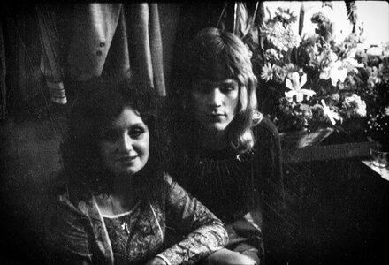Photo- Skylark at the Troubadour April 1967 BJ Cook and David Foster  -   Skylark  - Photo Credit:  BJ Cook