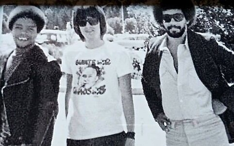 Photo- Carl Graves David Foster andDonny Gerrard Skylark rehearsal 1973  -   Skylark  - Photo Credit:  BJ Cook