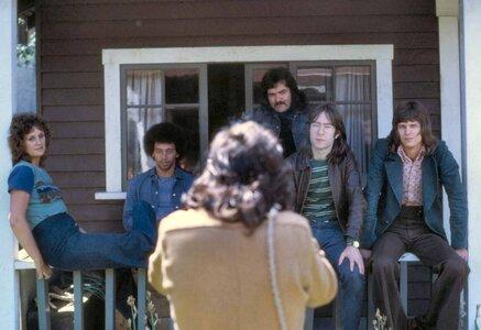 Photo- Taking a picture of James O\'mara shooting Skylark in 1971  -   Skylark  - Photo Credit:  David Wisdom