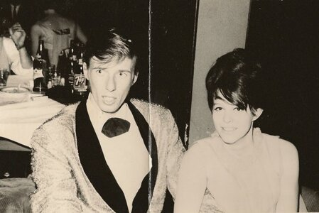 Photo- Gary Lee And Lorraine At The Purple Onion 1968  -   Neon Lighted People