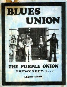 Photo- Blues Union Purple Onion Poster  -   Blues Union