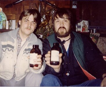Photo- L-Jeff Norton, R-Glenn Parfitt  1977  -   G.A.P. Entertainment  - Photo Credit:  Liz MacKenzie