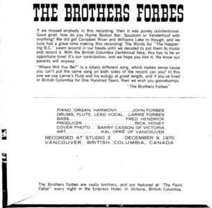 Photo -   Brothers Forbes
