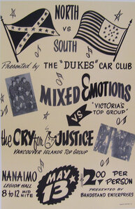 Photo- North Versus South Band Poster  -   Cry For Justice