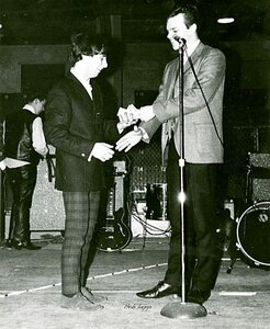 Photo- Winning the Island Battle of The Bands at  Nanaimo Civic Arena 1967  -   Cry For Justice