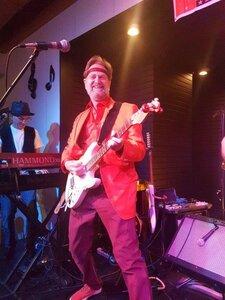 Photo- Photo taken at the Italian Hall Port Alberni Sep. 3, 2016 with Berrycup Blooze Band.  -   John Thorsberg  - Photo Credit:  Les Doiron