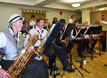 Photo -   Greater Victoria Big Band