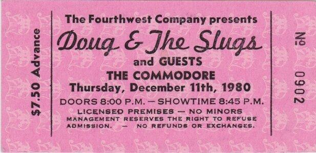 Photo -   Doug & The Slugs  - Photo Credit:  Vince Ricci