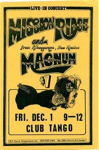 Photo- Mission Ridge Magnum Tango Pstr  -   Mission Ridge