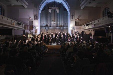 Photo -   SingYourJoy Young Adult Chorus  - Photo Credit:  Brad Edwards PIV Photography http://www.pivphotography.com/
