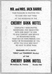 Photo -   Cherry Bank Hotel  - Photo Credit:  Glen Moffard