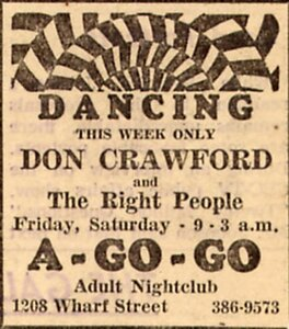 Photo- Doncrawfordtcagogoad  -   Club A GoGo