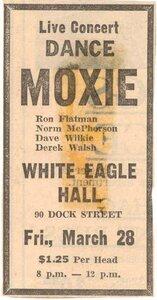 Photo- Moxie  -   Moxie  +  White Eagle Polish Hall