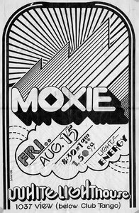 Photo- Moxie At The White Lighthouse 1037 View Street Circa 1969  -   Moxie  +  White Lighthouse