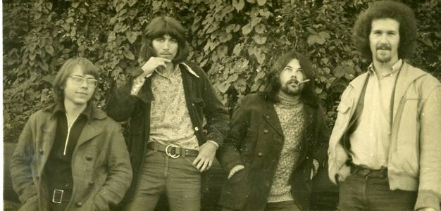 Photo- Here\'s another Vancouver version of Sleepy John from early 1968. That\'s Neuman with a beard, and also Blair Thorton who went on to join Bachman Turner Overdrive.  -   Sleepy John  - Photo Credit:  Rob Deans