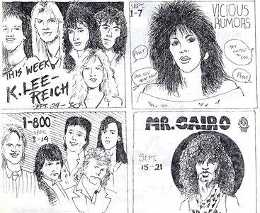 Photo- Olys Rocker Pg1b September October 1986  -   Olys Cabaret