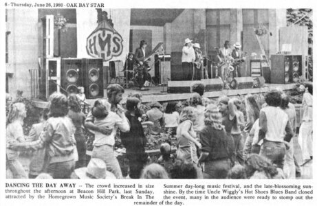 Photo- UWHm Grn  -   Stage in the Park (Cameron Bandshell)