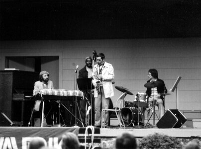 Photo- Art Pepper With Bill Sample Trio  -   Stage in the Park (Cameron Bandshell)