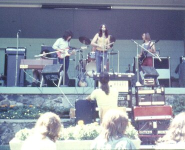 Photo- Sugarcane Cameron Bandshell 1972 Reverse  -   Stage in the Park (Cameron Bandshell)