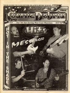 Photo- Cosmic Debris Magazine October 2000 Edition  -   Messenger