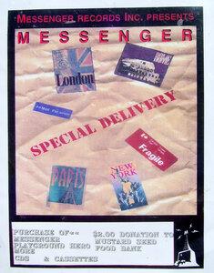 Photo- Messenger Records Inc. Pstr  -   Messenger