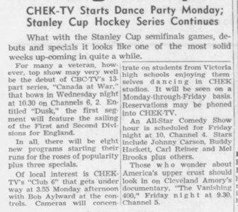 Photo- 31 March 1962 credit Janice Mason  -   Club 6