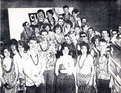 Photo- Hawaiian party on Club 6 Credit Bob Aylward  -   Club 6
