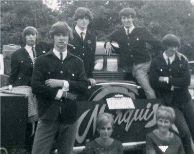 Photo- Marquis Outside CHEK Studio 1967. Club 6 Credit Norm Piercy  -   Club 6