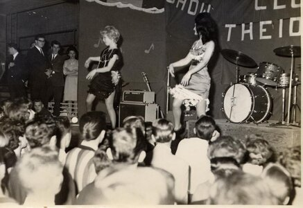 Photo- Club 6 1st anniversary show and dance April6, 1968 at the Esquimalt Sports Centre featuring \