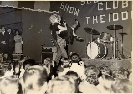 Photo- Club 6 1st anniversary show and dance April 6, 1968 at the Esquimalt Sports Centre featuring \