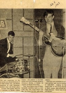 Photo- Para Mutuals photo taken at Club 6 February 1968 credit Ernie Niederer  -   Club 6