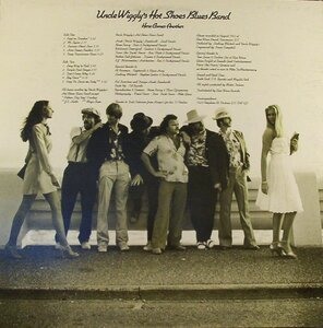 Photo- Uw2ndalbumcvrbk  -   Uncle Wigglys Hot Shoes Blues Band